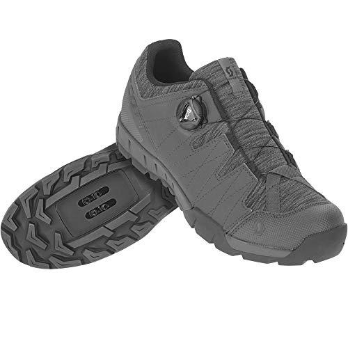 Scott 270606, Zapatillas Deportivas Trail Boa Dk Grey/Blck 41.0 Unisex Adulto