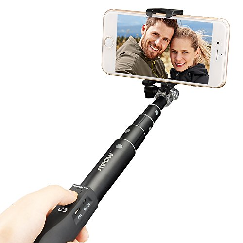 Palo de Selfie & Movíl, Mpow Selfie Stick Universal Estable...