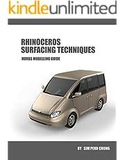 RHINOCEROS SURFACING TECHNIQUES: NURBS MODELLING GUIDE (English Edition)