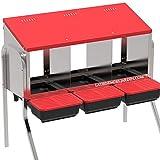 Suinga PONEDERO GALLINAS INTERIOR 3 departamentos 82x47x77 cm. INCLUYE PATAS. Capacidad 18 gallinas.