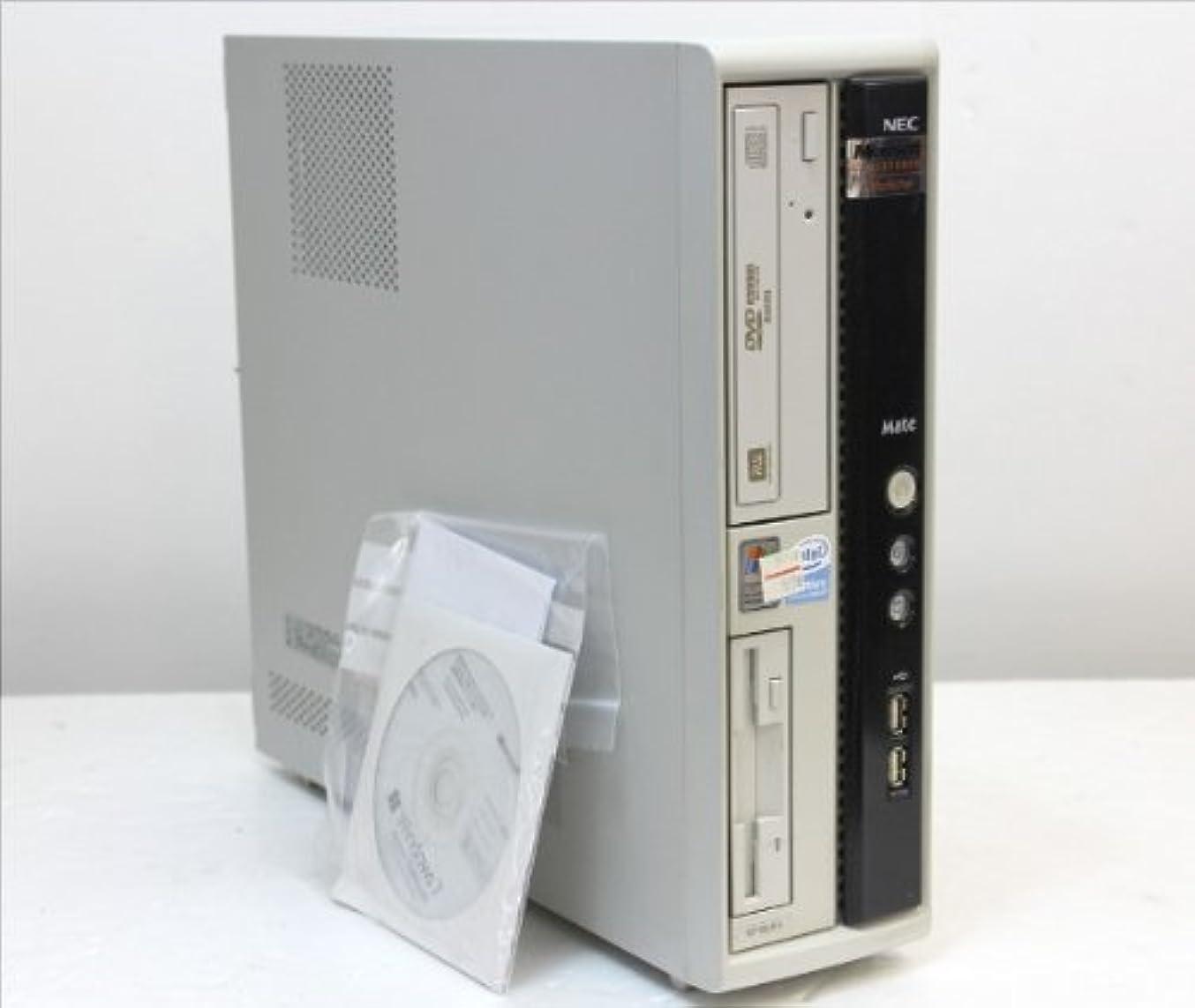 わずかに十分に欲しいですNEC SLIM PC-MY18L/R-4 PenDC-E2160-1.8GHz/1.5G/80G/MULTI/Win7 【中古】