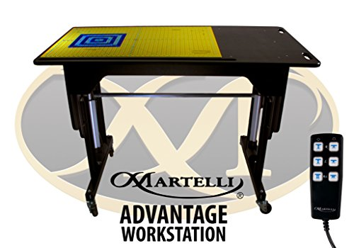 Martelli Advantage & Martelli Elite Workstation Kit - Quilting, Sewing and Crafting Table - Promotional Package Includes Table and Accessories - Made in USA (Advantage Workstation)