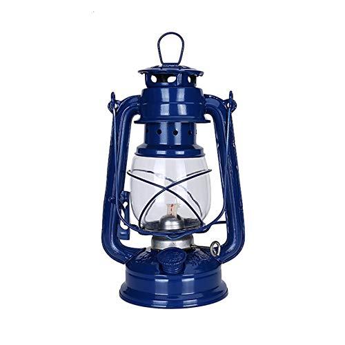 LANZHEN-RY Luces al Aire Libre 25cm Retro clásico Lámpara de keroseno 6 Colores 235 LEDDimmable Queroseno Las linternas portátiles Luces portátiles Luces del Adorno para jardín, pórtico de Patio