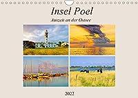 Insel Poel - Auszeit an der Ostsee (Wandkalender 2022 DIN A4 quer): Impressionen von Mecklenburgs groesster Insel (Monatskalender, 14 Seiten )