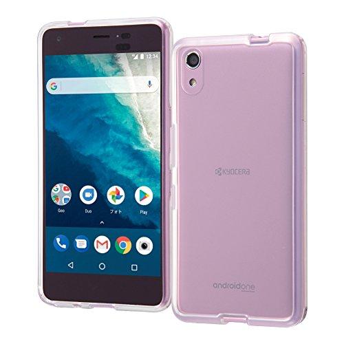 レイ・アウト Android One S4 ケース ハイブリッド/クリア RT-ANS4CC2/C