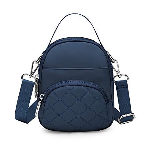 Wind Took Damen Umhängetasche Klein Mini Bag Sling Tasche Handtasche Citytasche Schultertasche Mode Damentaschen 14x17.5x6.5 CM