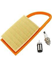 Fugift Air F🏿ltêr Fuel F🏿ltêr Spark Plüg para Stihl BR500 BR550 BR600 sopladores de mochila reemplazar 4282 141 0300 4282 141 0300B accesorios prácticos para herramientas