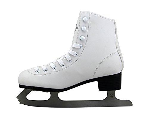Kounga Senhai Ice Skates Schlittschuhe, Weiß (White), 37/38 EU