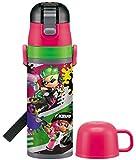 スケーター 子供用 2WAY ステンレス 水筒 コップ付き スプラトゥーン 2 430ml SKDC4