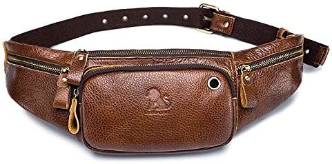 changshuo Waist Max 86% OFF Bag Genuine Cow Sma Las Vegas Mall Casual Men Leather
