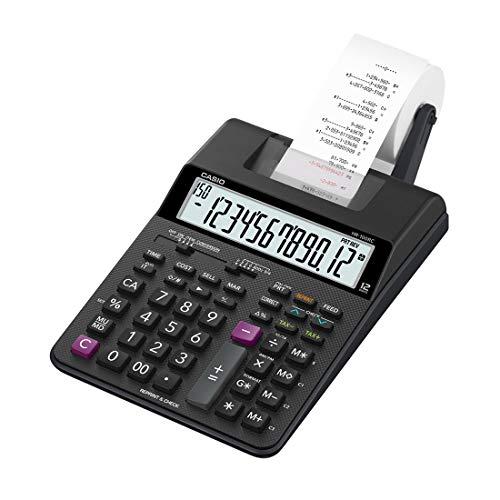 Casio HR-100RC Mini Desktop Printing Calculator, New