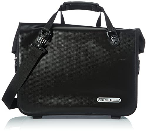 Ortlieb Unisex-Adult Office-Bag QL2.1 Einzeltasche Radtaschen, schwarz 21 l, One Size