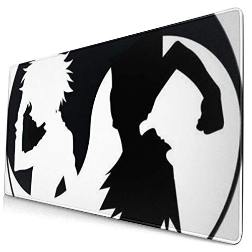 Extra Large Mouse Pad -Yin Yang Gon Killua Hunter X Hunter Desk Mousepad - 15.8x29.5in (3mm Thick)- XL Protective Keyboard Desk Mouse Mat for Computer/Laptop