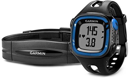 Garmin - 010-01241-50 - Forerunner 15 - Montre de Running avec GPS Intégré - Noir/Bleu