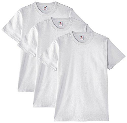 Fruit of the Loom -   Herren T-Shirt, 3er