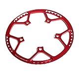 Copriruota per Bici Copriruota Copriruota in plastica Proteggere l'anello della Catena Copriciclo per Bici Pieghevoli, Bici da Strada