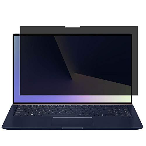 Vaxson Protector de Pantalla de Privacidad, compatible con Asus ZenBook 15 UX533FD 15.6' 2019 [no vidrio templado] TPU Película Protectora Anti Espía