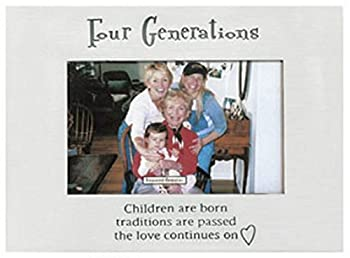 Ganz Four Generations Frame Holds 4 x 6  Photo