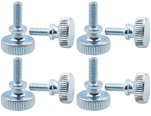 LBY Knurled Hand Screw Double Layer Step M3 x 20mm Combination Pack of 20 Pcs