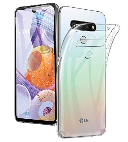 AVIDET for LG Stylo 6 Case, Extremely Thin Crystal Clear Soft TPU Rubber [Excellent Durability] [Scratch Resistant Anti Slip] Cover Case for LG Stylo 6 (Clear)