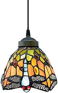 Vintage Tiffany Style Mini Pendant Light - LITFAD 7