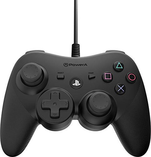 PowerA Wired Controller For PS3 - Black