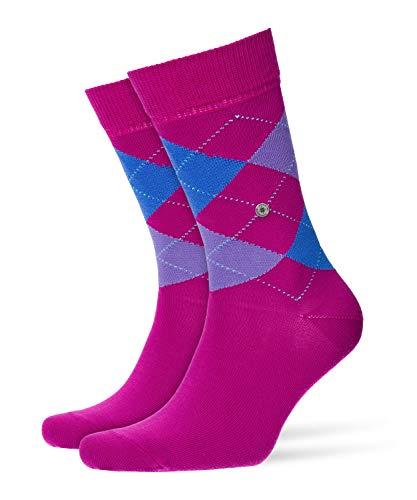 BURLINGTON Damen Socken Queen - Baumwollmischung, 1 Paar, Rosa (Magenta 8020), Größe: 36-41