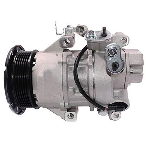 88310-52551 Aria Condizionata Compressore - SINOCMP 4PK A/C Compressore per Toyota Yaris 05\'>10\' Vitz Sienta 03\' Scion X, 3 Mesi di Garanzia