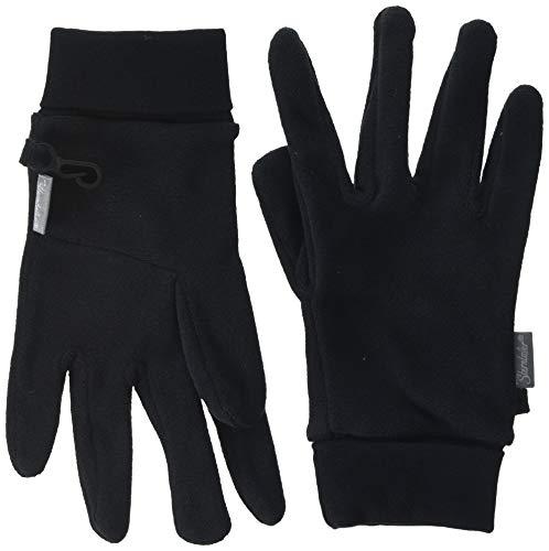 Sterntaler Jungen Fingerhandschuh Handschuhe, Schwarz, 5