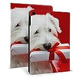 Custodia per Il Nuovo iPad Puppy Dog Play Box Fun iPad Custodie per iPad Mini 4 / Mini 5/2018 6th / 2017 5th / Air/Air 2 con Auto Wake/Sleep Magnetic Kids Cover per iPad