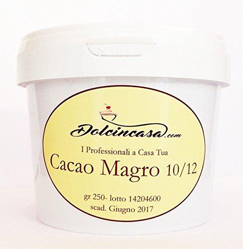 Cacao Magro 10/12 Senza Glutine- Naturale- Vegano - 250gr