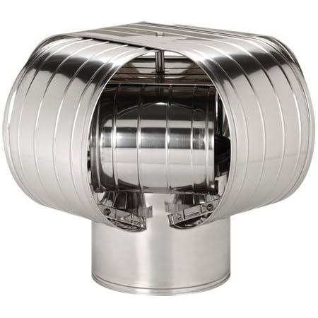 Hat aspirafumo Swivel Chimney Oven Stainless Steel Round various measures