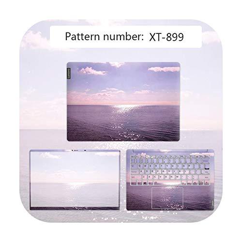 Funda para ordenador portátil con diseño de paisaje impermeable para Lenovo G40 80/Flex 3 1570/YOGA 710/Ideapad 330C etc. Película antiarañazos XT-899-IDEAPAD 300 15ISK