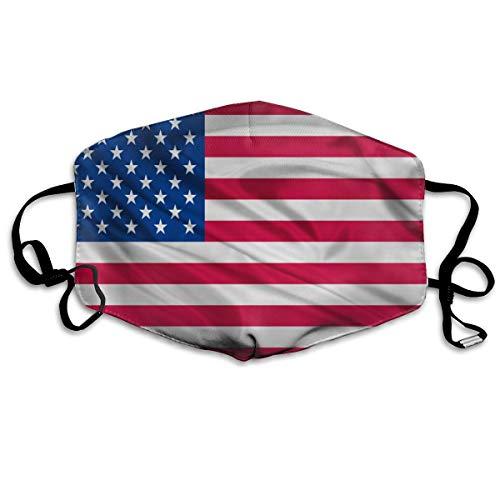 Verenigde Staten Vlag Unisex Full-Coverage Buis Gezicht Masker Bandanas UV Bescherming Hals Gaiter Hoofdband