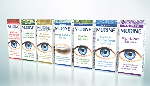 Murine Dry & Tired Eyes Lubricant 15ml
