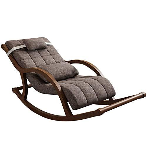 TYXL gaming chair Kaufen Wohnzimmer Lounge Chair Chaise Schaukelstuhl Entspannen und Sonnensonnenstuhl, Liegesessel Chaise Lounge Cushioned Boden Gaming Chair for Privatanwender faule Sofa, Stuhl Spie