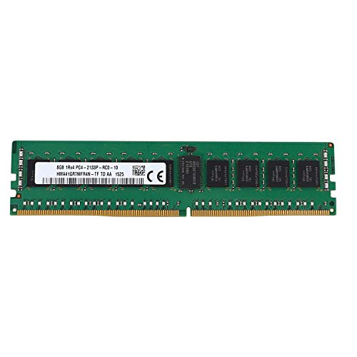 Kaxofang DDR4 8GB Servidor 1RX4 PC4-2133P 2133MHz 288PIN 1.2V ECC REG DIMM Memoria