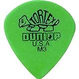 Dunlop 472 Púas TORTEX JAZZ Media verdes puntiagudas