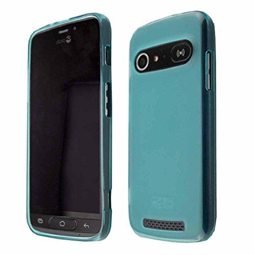 Coque pour Doro 8040/8042, TPU-Housse Étui de Protection Antichoc pour Smartphone (Coque de Coloris Bleu)