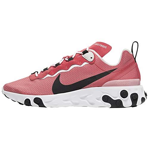 Nike React Element 55 Se Ci3831-800 - Zapatillas deportivas para hombre, Naranja (Brumber Glow/Negro claro hueso-blanco), 41.5 EU