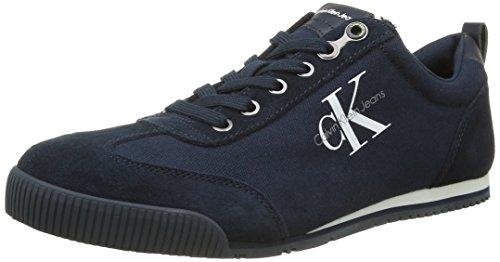 Calvin Klein Jeans Wyatt, Espadrilles Homme, Bleu (Navy), 43 EU