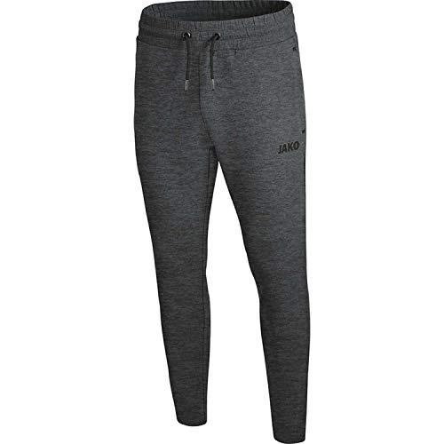 JAKO Herren Premium Basics Jogginghose, anthrazit meliert, L