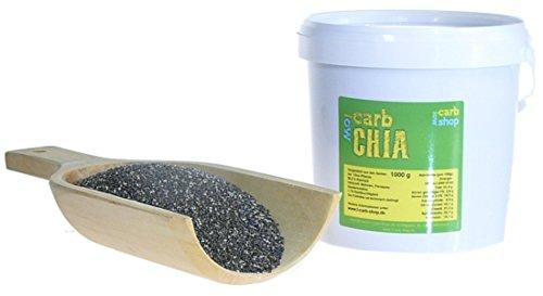 -Carb Chia Samen aus fairem Handel (1 kg)