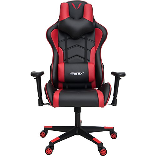 Merax U-Knight Series Racing Style Gaming Chair Ergonomic High Back PU...