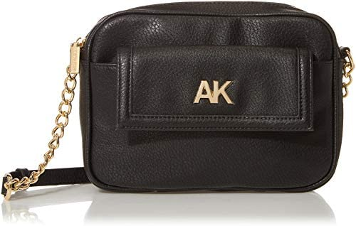 Anne Klein womens Anne Klein Camera Crossbody Bag Black 9 L x 6 5 H 2 D US product image