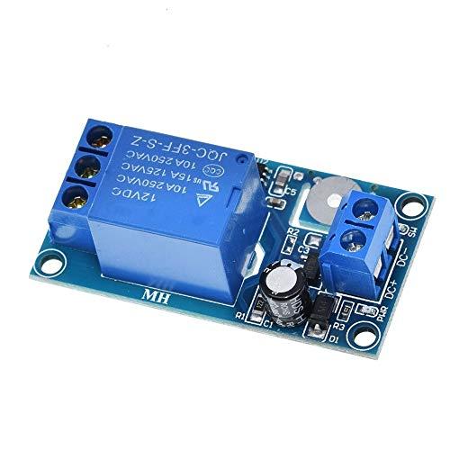 KEPUSHIYE Componentes electrónicos Interruptor de 12V 1-Canal del módulo de relé táctil capacitiva táctil