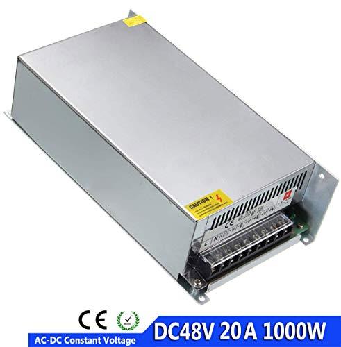 Hochleistungs Schaltwandler AC 110 V / 220 V bis DC 48 V, 20 A, 1000 W Netzteiltransformator Universal Regulated Switch Driver für CNC Graviermaschine