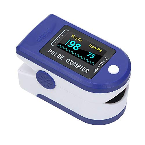 Oxímetro De Dedo Display Led - Medidor Saturação De Oxigênio