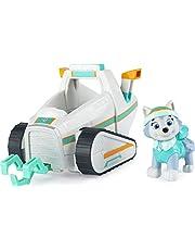 Paw Patrol 6058278 PAW VHC BscVeh CB ECMX GML, Everest sneeuwvlucht voertuig met verzamelfiguur, voor kinderen vanaf 3 jaar, meerkleurig