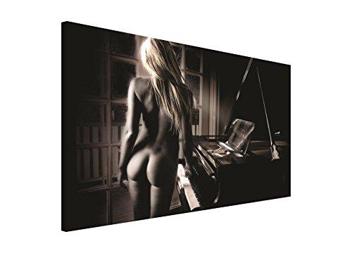 FORWALL Bild WANDBILD Bilder WANDBILDER Canvas- SEXY Lady AM Piano 197 O1